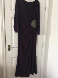 Evening dress size 18