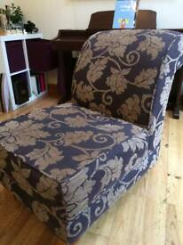 Footstool and chair