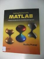 Getting Started with MATLAB (ISBN 978-0199731244)
