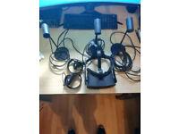 Oculus Rift VR Headset 2 Touch Controllers, 3 Sensors