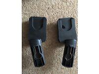 Quinny buzz adaptors(used for maxi cosi car seat