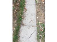Paving slabs 60cm x 60cm x 50mm