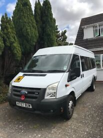 Superb condition ford transit 17 seater