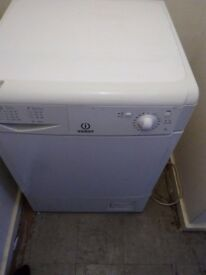White indesit condenser dryer fully working £55 if gone today