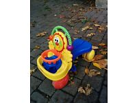Fisher Price lion scooter and walker