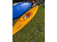 Pyranha canoe