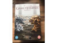Game of Thrones DVD Boxset, Series 1-7, New