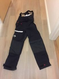Musto Br2 sailing trousers size 10