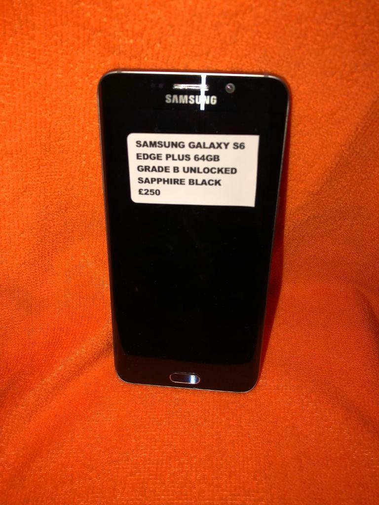 SAMSUNG GALAXY S6 EDGE 64GB PLUS