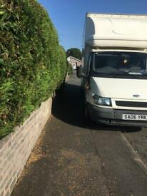 Ford transit Luton with taillift