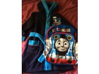 Thomas and friend robe and bag good condition