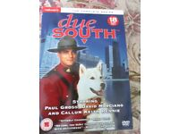 Due South Complete Series 18 disc boxed set. Viewed once only
