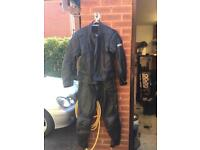 Leathers two piece size 12.