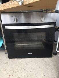 Electric oven , gas hob