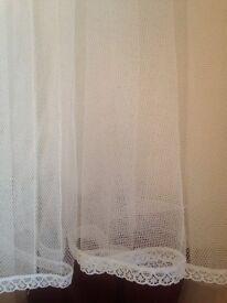 Wedding hooped petticoat