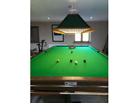 Full Sized Snooker table for sale