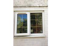Double glazed 116W x 95H cm Window with 1 opener £50 -ONO