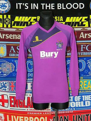 4.5/5 Bury adults S 2011 football shirt jersey trikot soccer image