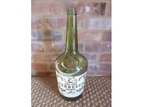 Large 45cm Tall Vintage HENNESSY COGNAC Glass Bottle