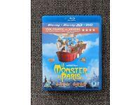A Monster in Paris Blu Ray (2D/3D)