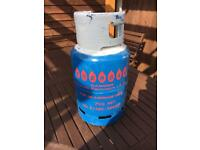 7kg butane calor gas bottle FUll bbq / patio heater /camping £18