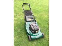 Hayter harrier 56 large self propelled roller mower cost £1200