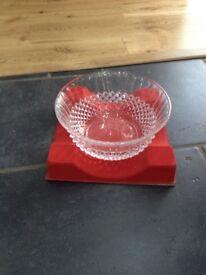 glass bowl (27.5cm) BRAND NEW