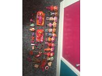 Clear out inc. lala loopsys .. num nums .. doll house figures .. my little pony .. jigsaw