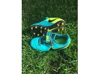 Kids football boots size 12
