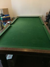 8 x 4 Snooker table for sale
