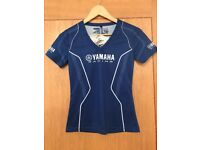 Ladies Yamaha Tshirt. Brand new with tags. Size S/M.