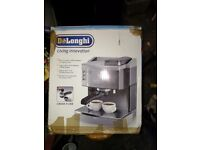 De'Longhi EC710 15-Bar Espresso/Cappuccino Maker, Stainless Steel (Used) Still great quality!