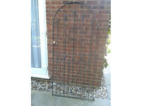 Wrought Iron Metal Gate FREE LOCAL DELIVERY