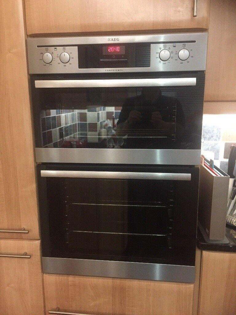 AEG double oven