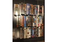 47 Retail VHS Tapes