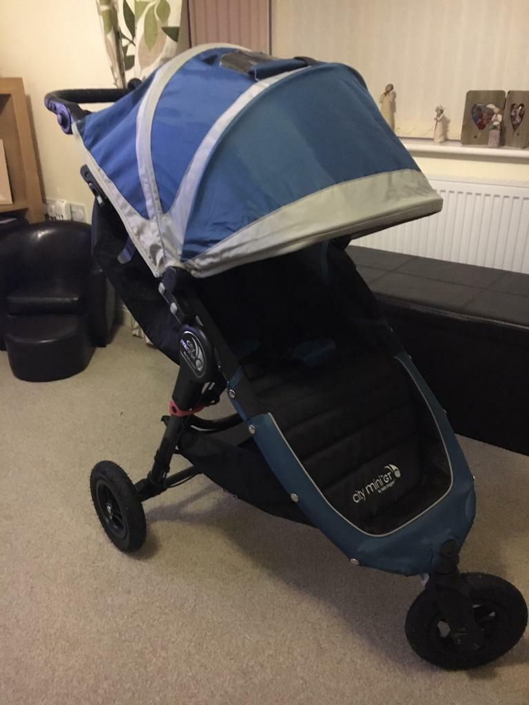 Baby Jogger City Mini Gt Blue All Terrain In