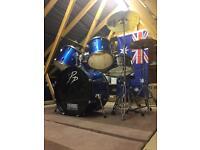 8-piece drum kit