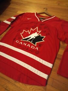 Signed Canada Jersey