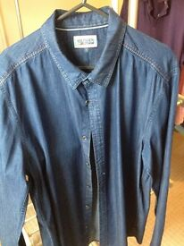 Tommy Hilfiger mens denim shirt - Further Reduced Price