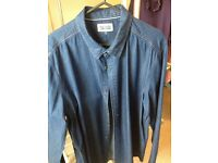 Tommy Hilfiger mens denim shirt