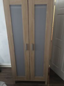 Used ikea wardrobe still in good condition. Have 2 of the same can buy together or seperate