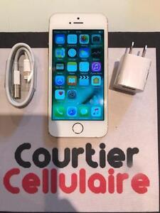 ***VOIR DESCRIPTION*** iPhone 5s 16gb or déverrouillé