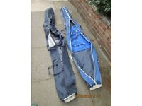 210x18x20cms good condition quality Salomon and Look ski bags. Offers.