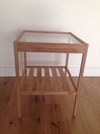 Ends on Feb 28 - lovely IKEA side table for sale