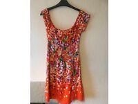 Warehouse short dress size 10