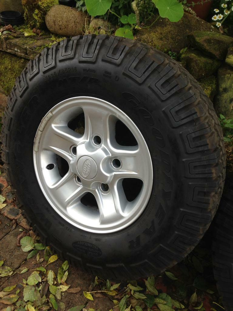 Landrover defender boost alloys
