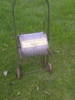 "Watson's ""Ideal""  Antique Hose Reel / Lawn and Garden Art"