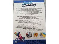 Domestic cleaning and office cleaning
