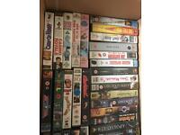 Job lot vhs lots of box sets