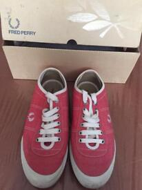 Ladies Fred Perry pumps size 6